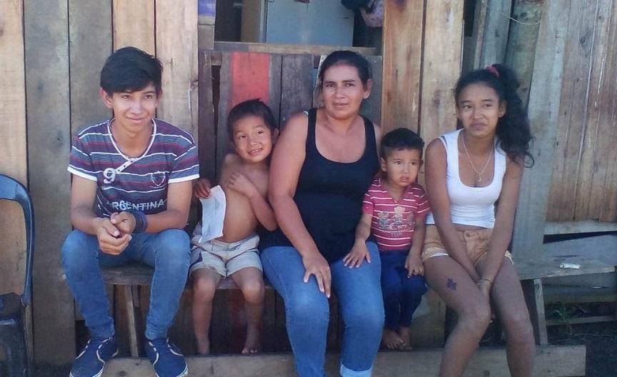 Eduarda Cardozo recibió ayuda de las organizaciones sociales y el PAyS