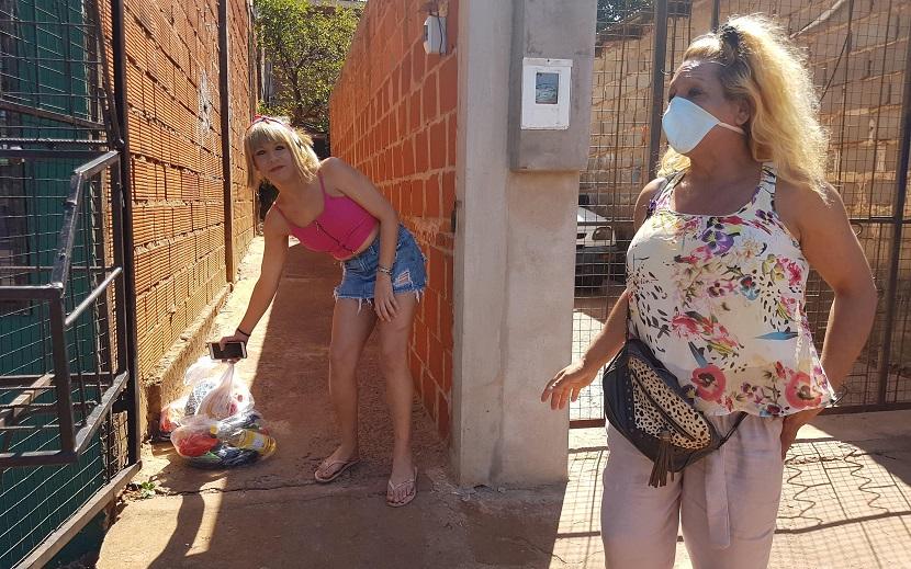 En Misiones la Red 100% Diversidad y Derechos brindó ayuda con Asociación De la Calle a la Dignidad