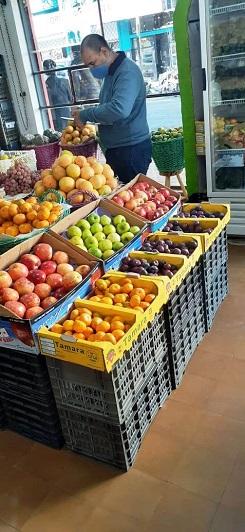Relevamiento de precios en verdulerías y fruterías