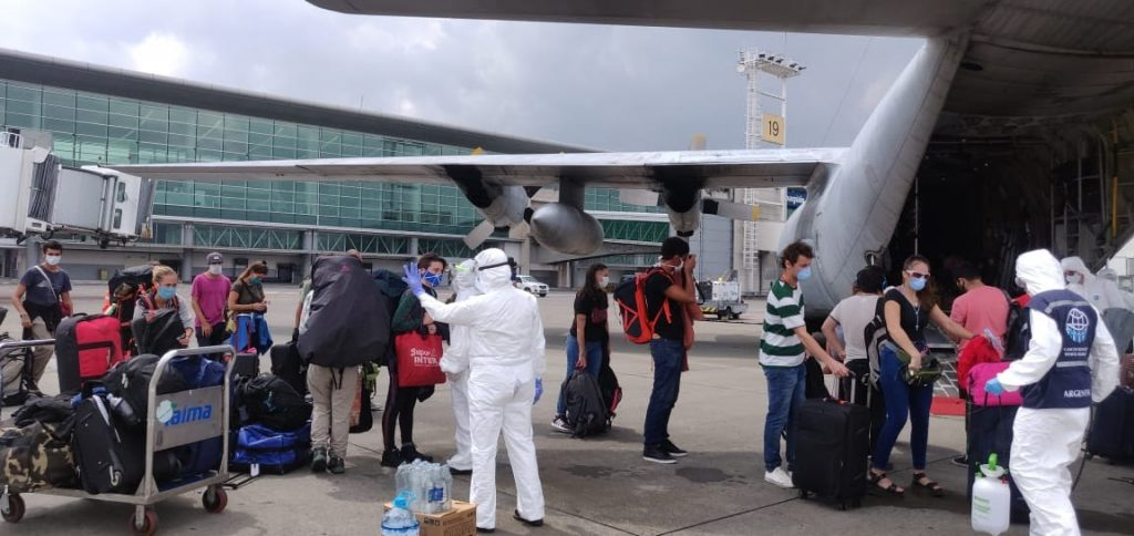 Repatriación de ciudadanos Argentinos