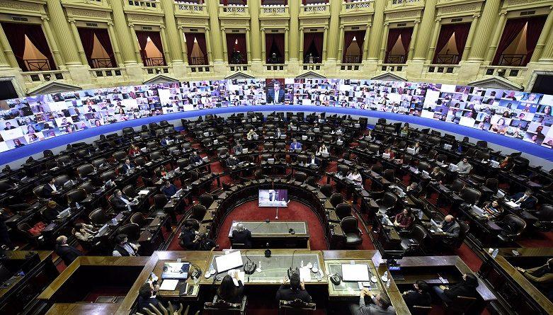 Congreso Nacional Sesión Remota
