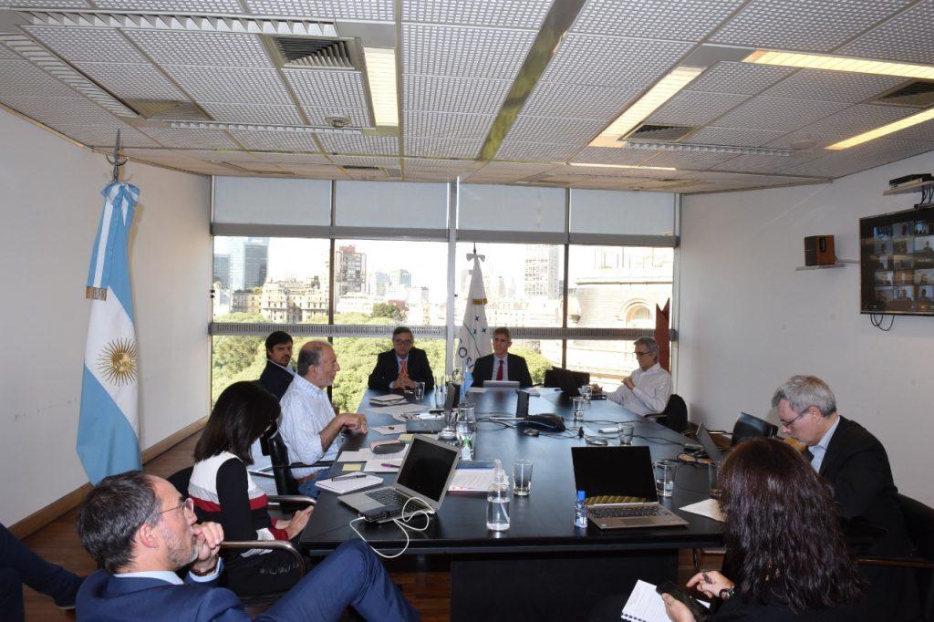 Coordinadores Nacionales del Mercosur en videoconferencia