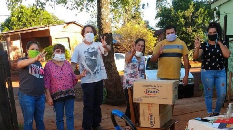 Familias del barrio Luján que necesitan tanque de agua mas grande