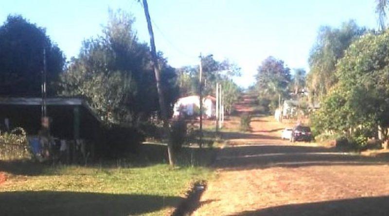 Familias del barrio Seis Viviendas de Mártires reclaman iluminación