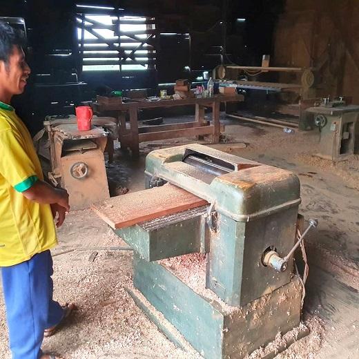 Guaraníes de la comunidad Pai Antonio Martínez quieren reactivar la carpintería