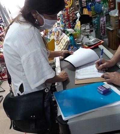 Inspección de productos alimenticios de origen extranjero no habilitados