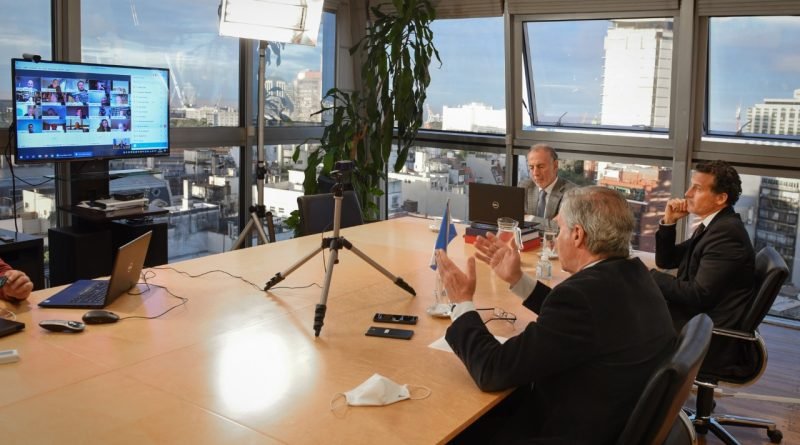 MERCOSUR-LA UIA Y LA CGT Videoconferencia