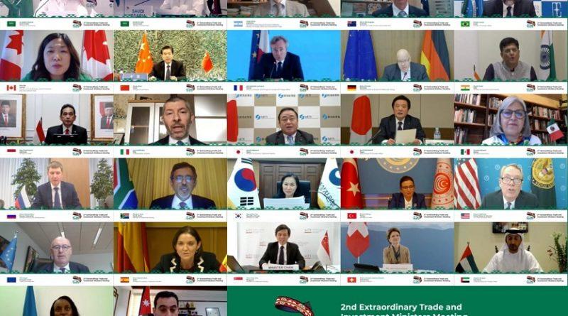 Segunda Reunión Ministerial Extraordinaria de Comercio e Inversiones del G-20 sobre el COVID-19