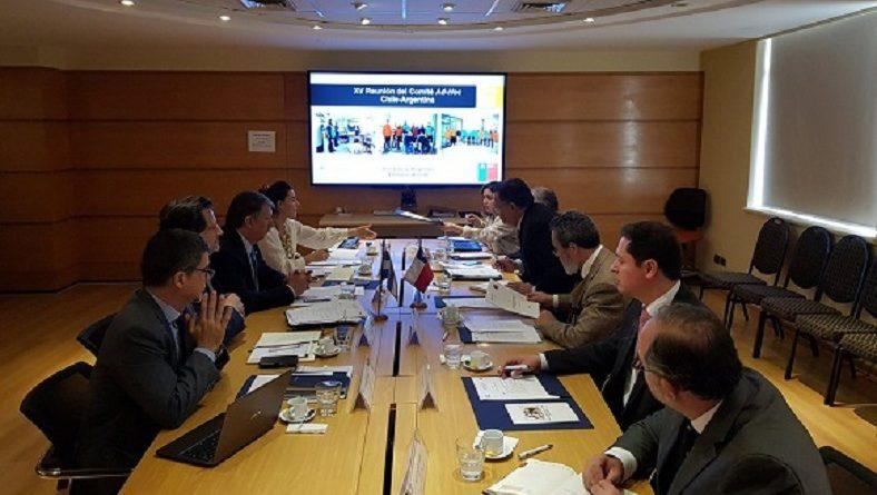 XVIª Reunión del Comité Ad-Hoc Argentina-Chile sobre Coordinación Política en Materias Antárticas.