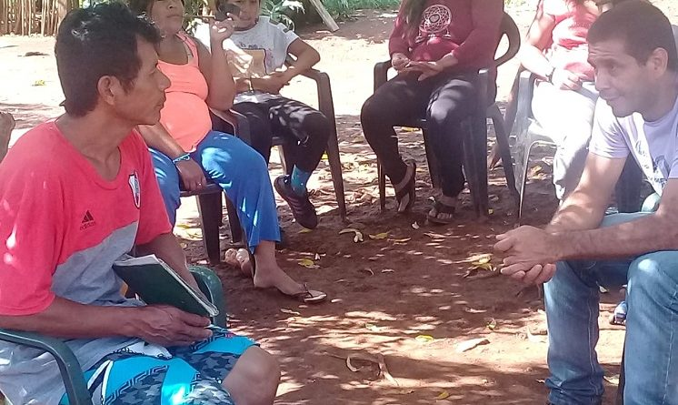 Comunidad Iguá Porá, de San Vicente reclama servicios básicos e insumos