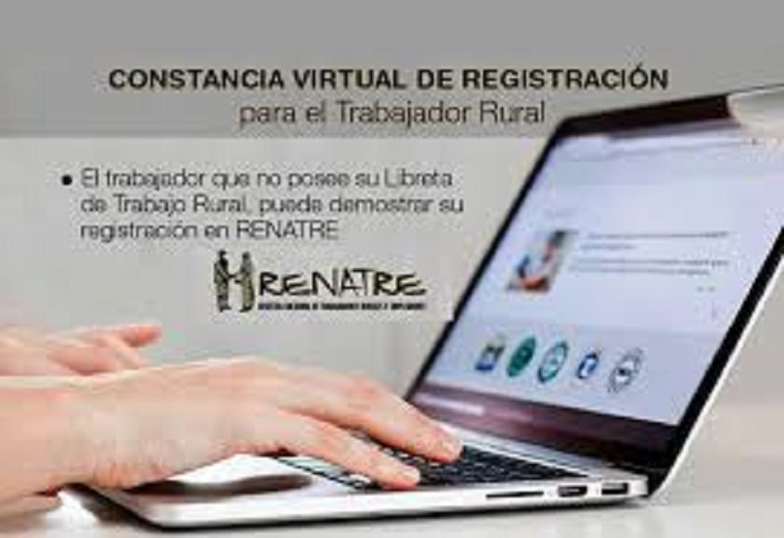 Constancia Virtual de Registración de Trabajo Rural