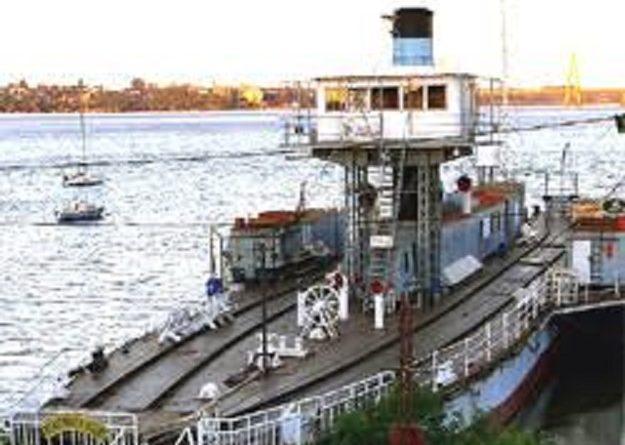Ferry de Posadas-Gigantes Dormidos-