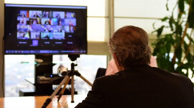 F. Solá en Teleconferencia con 75 cámaras empresarias para analizar la agenda de negociaciones