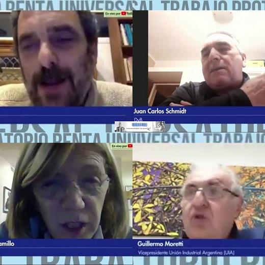 Conversatorio por la Renta Universal, el Trabajo y la Protección Social