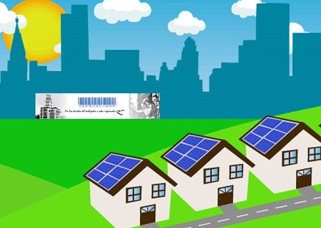 Energía solar en edificios públicos y viviendas
