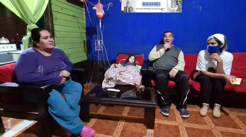 Familia de Bonpland necesita asistencia del Estado para su hija con discapacidad