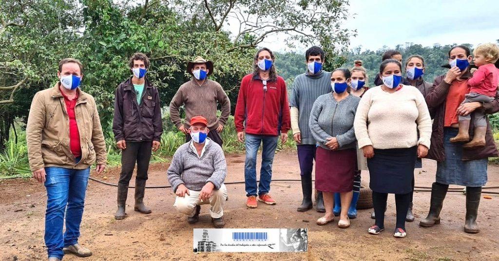 Familias de Pepirí reclaman que cese el hostigamiento de la empresa Laharrague y piden títulos de las tierras