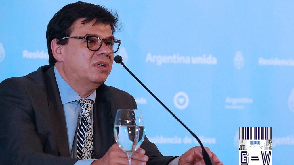 Ministro de Trabajo de la Argentina Claudio Moroni