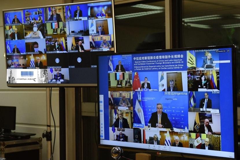 Ministros de Relaciones Exteriores de China, América Latina y el Caribe- videoconferencia