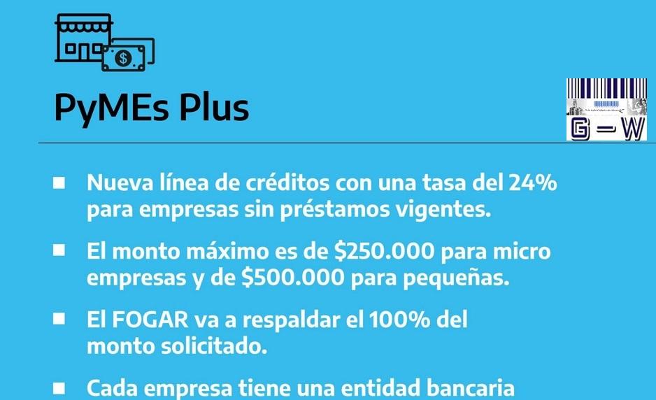 Pyme Plus- Nueva linea de creditos