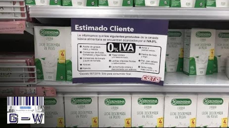 Quitar la actual exención del IVA a la venta de leche