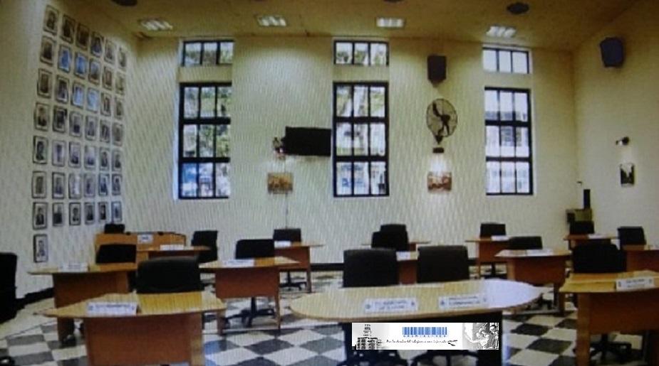 Recinto del Concejo Deliberante de la Ciudad de Posadas Mnes.
