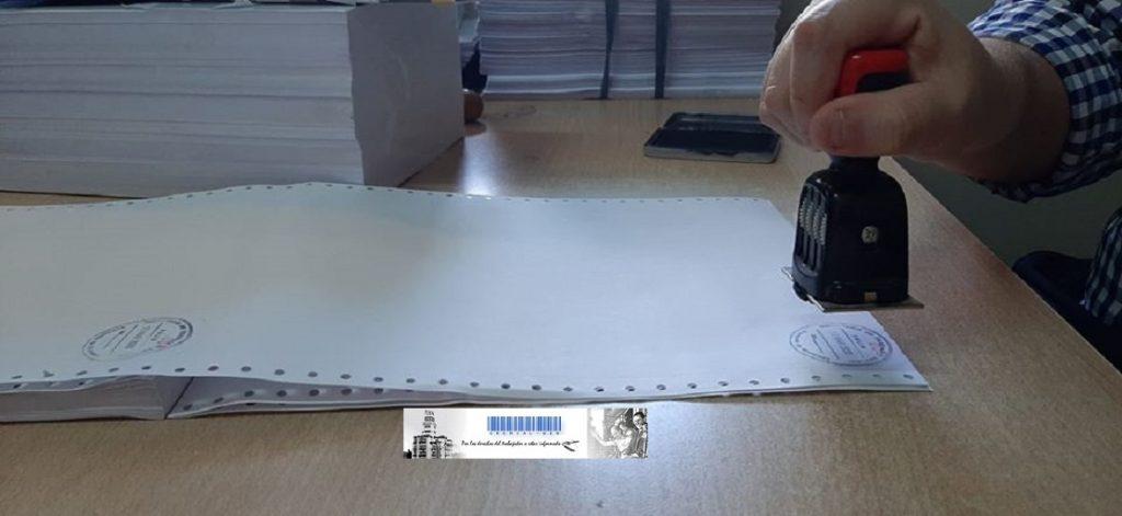 Rubrica de documentación laboral