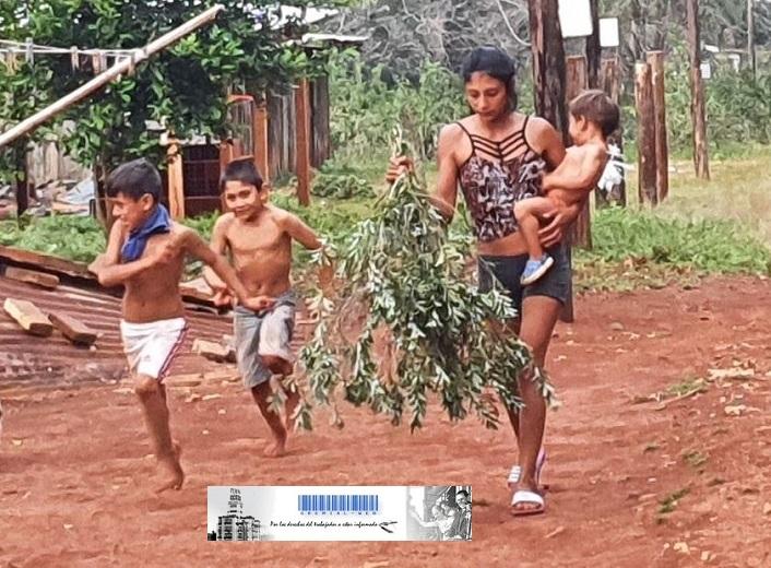 Familias del barrio Pileta y Picada Machado, Concepción de la Sierra reclaman agua