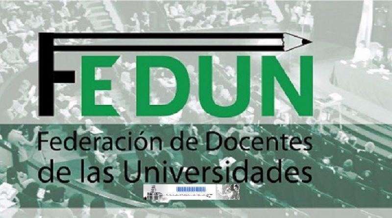 Federación de docentes de las Universidades