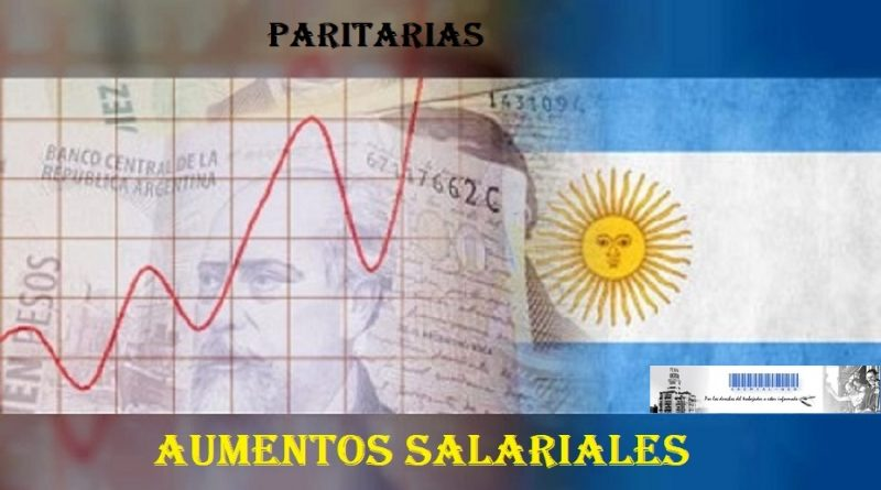 Paritarias - Salarios