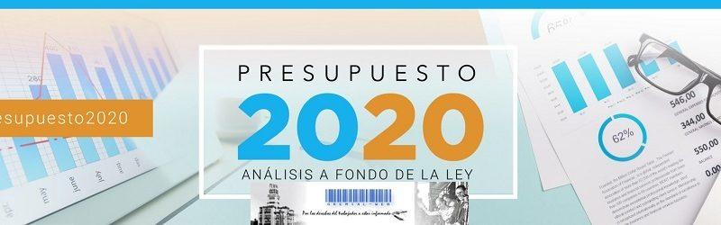 Presupuesto 2020 análisis de la Ley