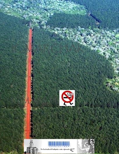 Prohibición de fumar en Parques y Reservas