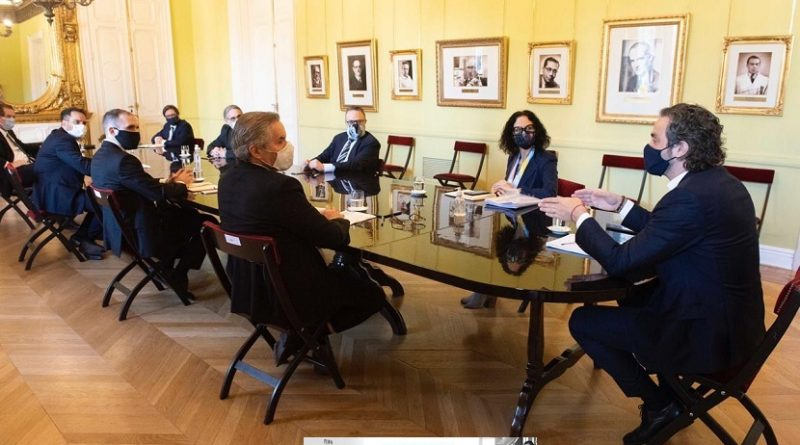 Reunión de trabajo del Gabinete