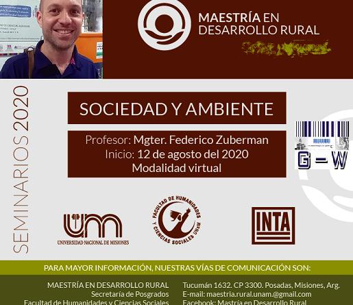 Seminario de Sociedad y Ambiente