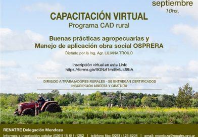 Capacitación Virtual Septiembre 2020 RENATRE