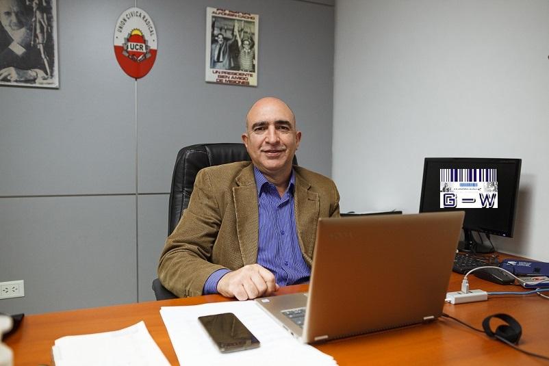 Diputado Jorge Lacour (UCR)