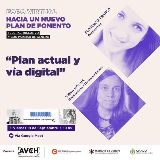 Foro Virtual Hacia un Nuevo Plan de Fomento