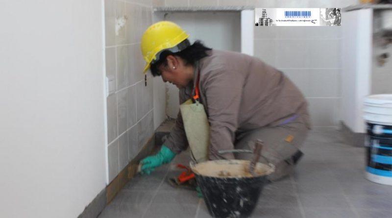Mujeres en el rubro de la construcción