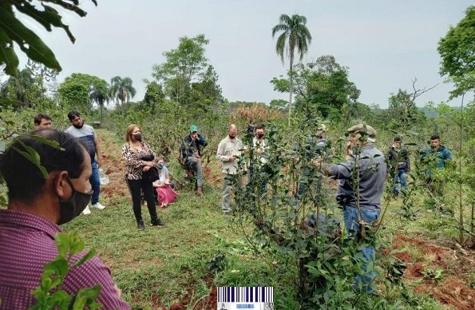 Primeras capacitaciones presenciales a trabajadores rurales