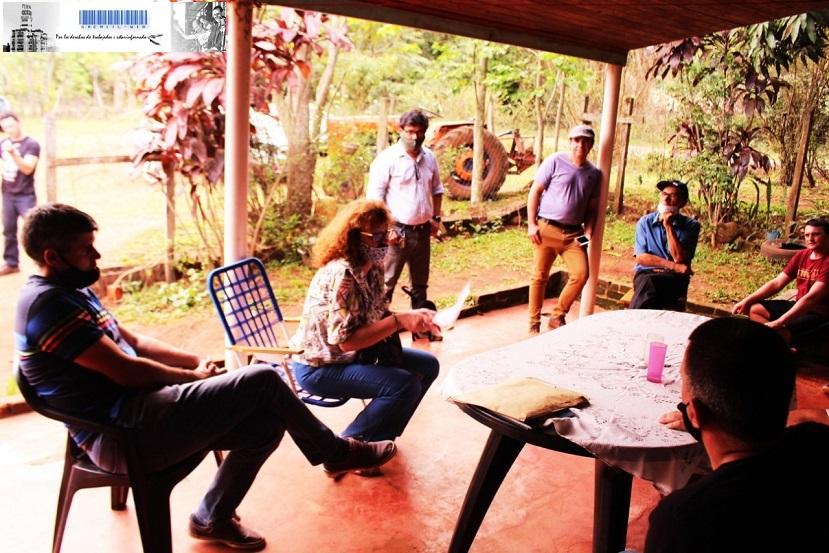 Reunión con trabajadores metalúrgicos de San Javier