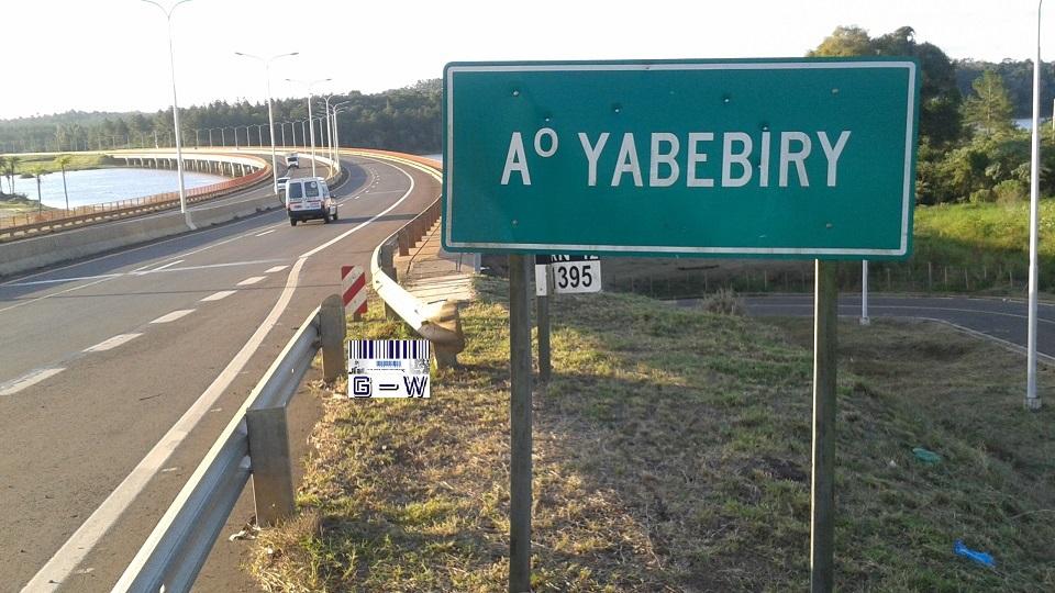 Arroyo Yabebiry Ruta Nº12 - San Ignacio Prov. de Misiones Argentina