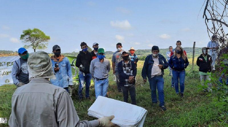Capacitación presencial para trabajadores rurales