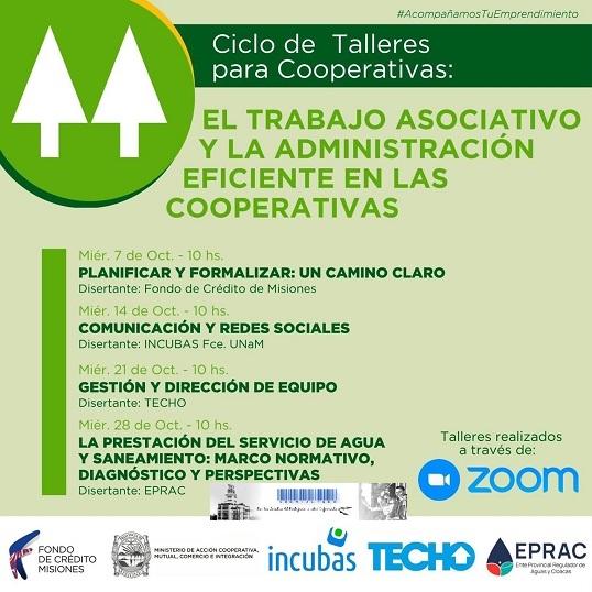 El trabajo asociativo y la administración eficiente en las cooperativas