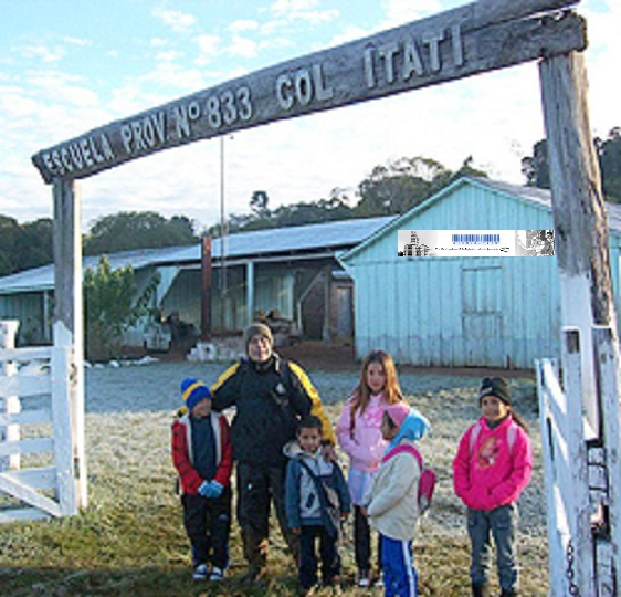 La Escuela Rural 833 de Colonia Itatí se brindaba atención de salud a las familias