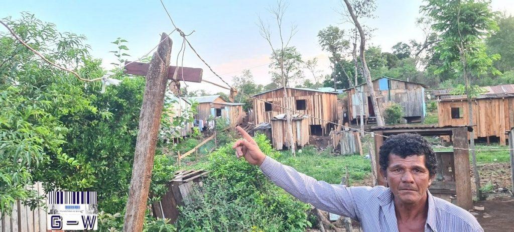 Familias del barrio Obrero de San Vicente esperan conexión de la energía eléctrica