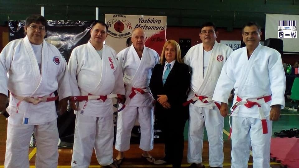 Maestros de la Asociación Misionera de Judo y Defensa Personal