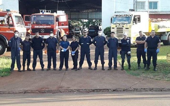 Cuartel de los Bomberos Voluntarios de Eldorado