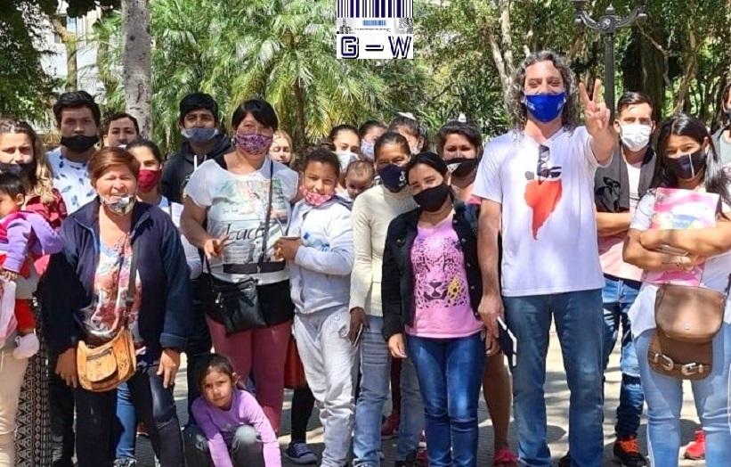 Familias del barrio Alberto Fernández confían en lograr una solución para su problema de viviendas