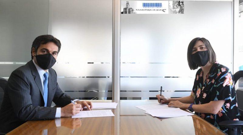 Firma del acta en pos del mejoramiento permanente de la calidad del empleo de los trabajadores rurales