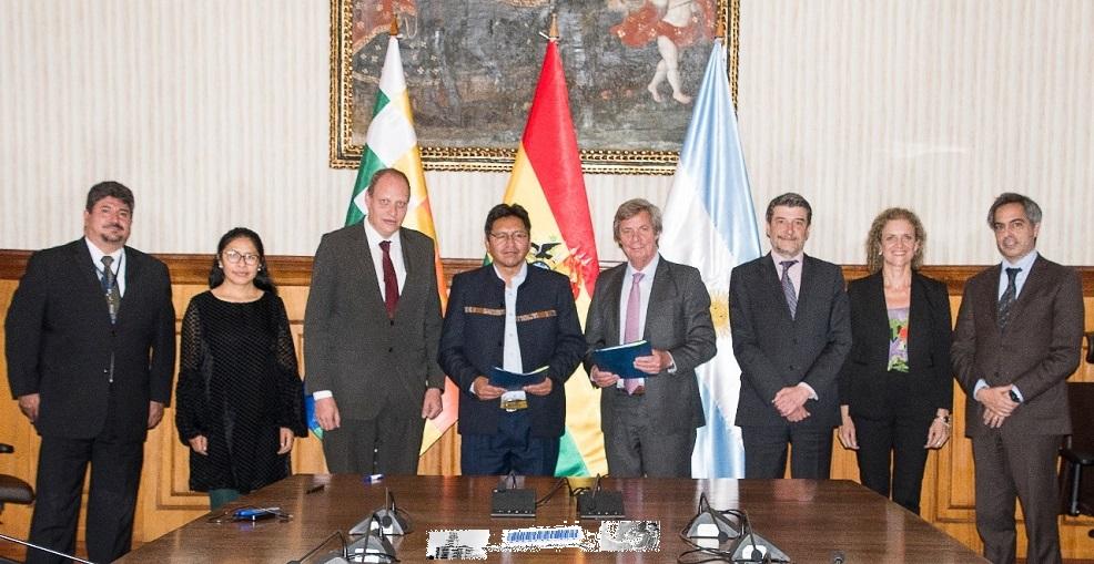 Argentina y Bolivia reanudan su agenda bilateral